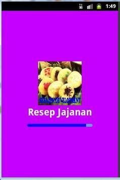 Aneka Resep Jajanan poster