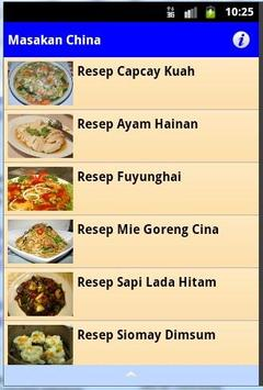 Resep Masakan China apk screenshot