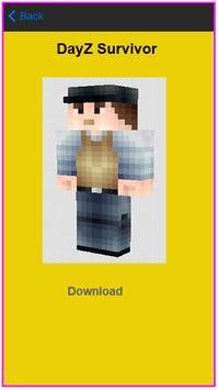 Skins For MC PE Game apk screenshot