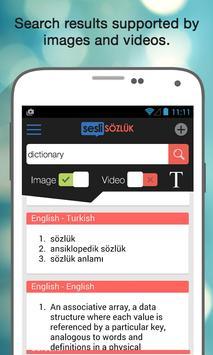 Sesli Sözlük apk screenshot
