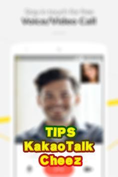(Tips) KakaoTalk Cheez poster