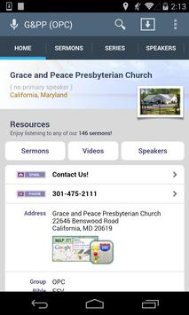 Grace and Peace Presbyterian poster