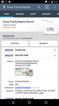Grace Family Baptist Church poster