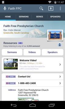 Faith Free Presbyterian Church poster