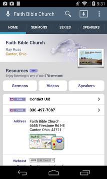 Faith Bible Church poster