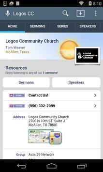 Logos Community Church poster