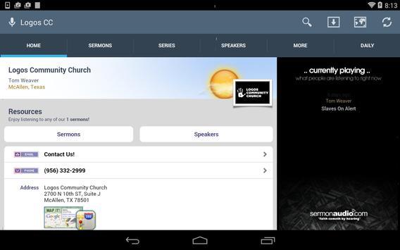 Logos Community Church apk screenshot