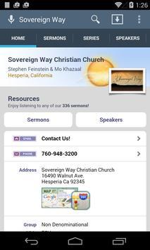 Sovereign Way Christian Church poster