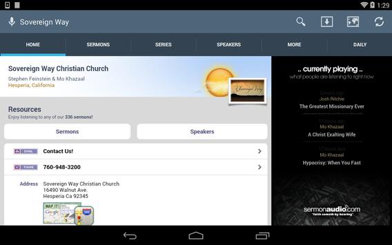 Sovereign Way Christian Church apk screenshot