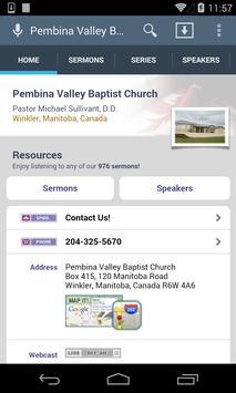 Pembina Valley Baptist Church poster