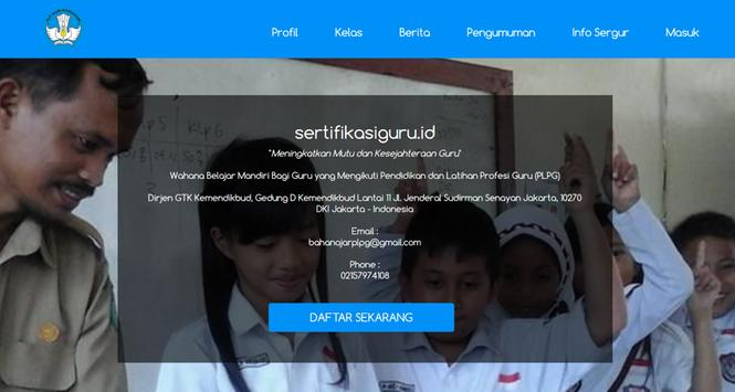 sertifikasiguru.id Mobile apk screenshot