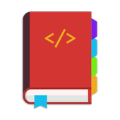 HTML, CSS, PHP, JS - book icon