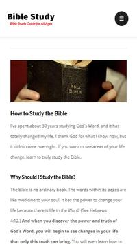Bible Study Guide apk screenshot