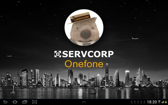 Servcorp Onefone for Tablet poster