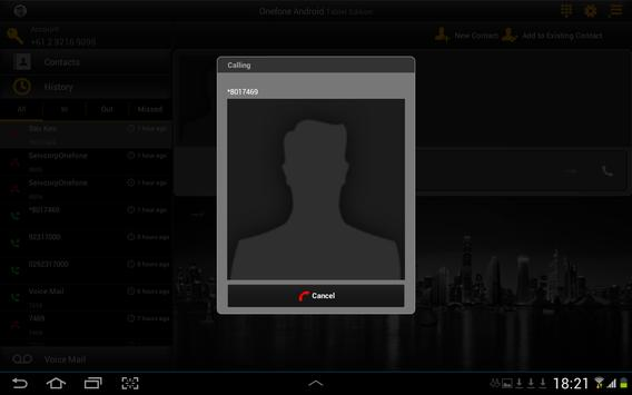 Servcorp Onefone for Tablet apk screenshot