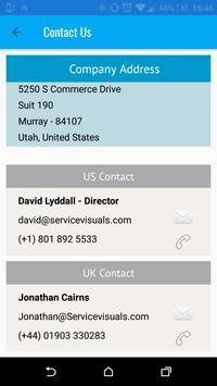 Service Visuals Demo apk screenshot