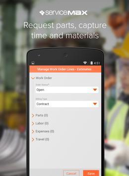 ServiceMax Winter 15 apk screenshot
