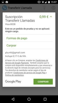 Transferir Llamadas apk screenshot