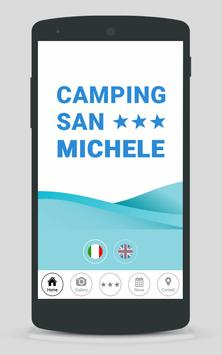 Camping San Michele poster