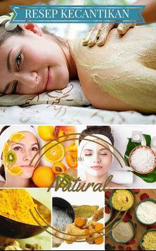 Resep Kecantikan Natural poster