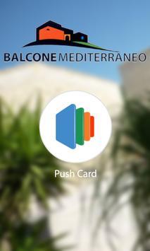 Balcone Mediterraneo poster