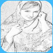 تحويل الصور الى رسم بالقلم icon