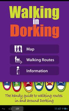 Walking In Dorking poster