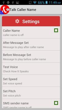 Call Announcer 2016 apk screenshot