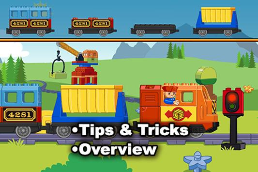 Guide for LEGO DUPLO Train poster