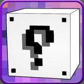 Lucky Block White Mod for MCPE icon