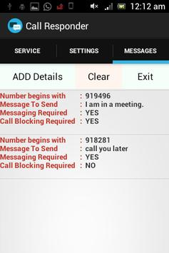 Call Responder apk screenshot