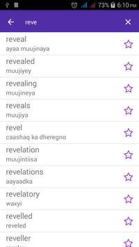 English Somali Dictionary apk screenshot