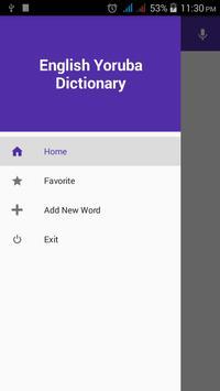 English Yoruba Dictionary poster