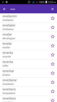 Spanish French Dictionary apk screenshot