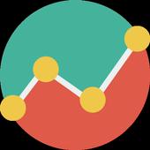 ShakeJ Android Custom Graph icon
