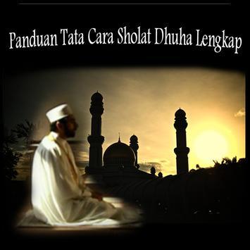TATA CARA SHOLAT DHUHA LENGKAP poster