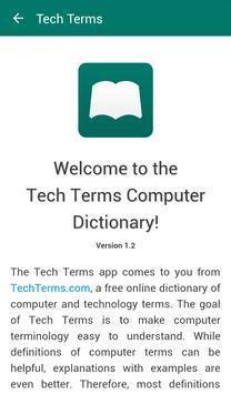 Tech Terms Computer Dictionary apk screenshot