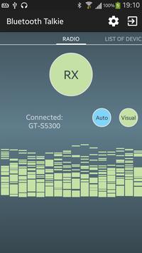 BluetoothTalkie apk screenshot