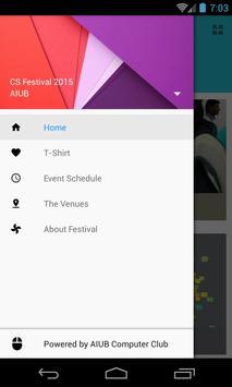 AIUB CS Fest apk screenshot