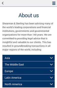 Shearman & Sterling Mobile apk screenshot