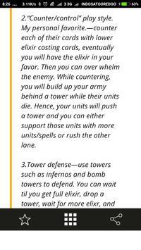 Guide Tactics for Clash Royale apk screenshot