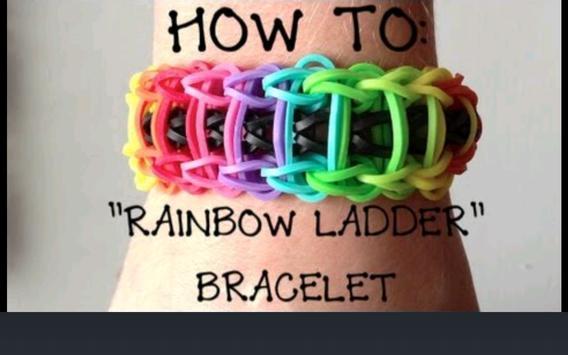 Rubber Band Bracelets Guide poster