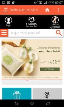 Rede Natura Mundo Conectado poster