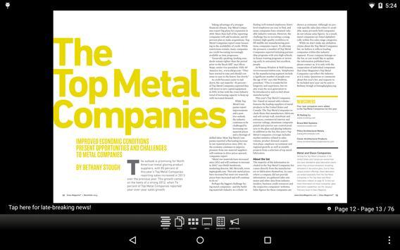 Glass Magazine App poster