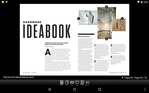 Glass Magazine App apk screenshot
