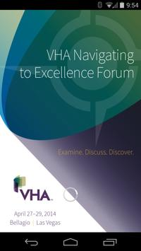 VHA Navigating to Excellence poster