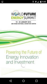World Future Energy Summit poster