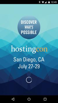 HostingCon Global poster