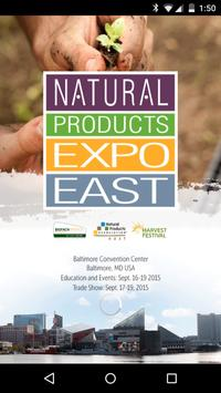 Natural Products Expo poster