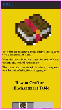 Recipe Guide For MC apk screenshot